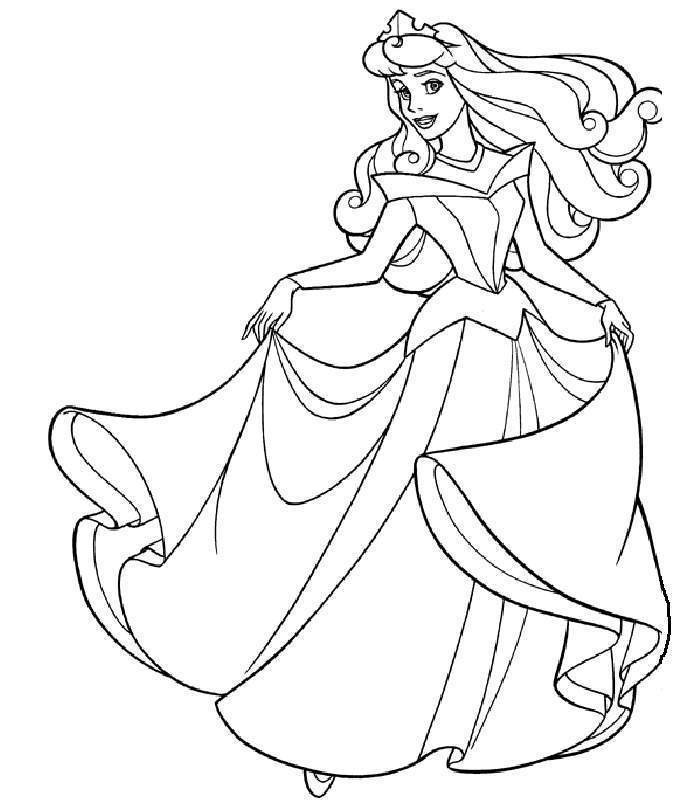 700x800 Beauty Coloring Pages Unique Sleeping Beauty Coloring Pages