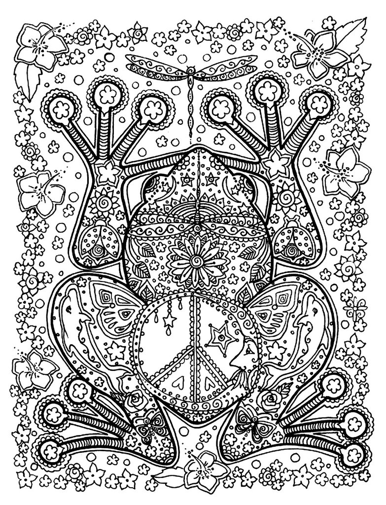 783x1024 Get The Coloring Page Frog Free Colouring Pages For Adults