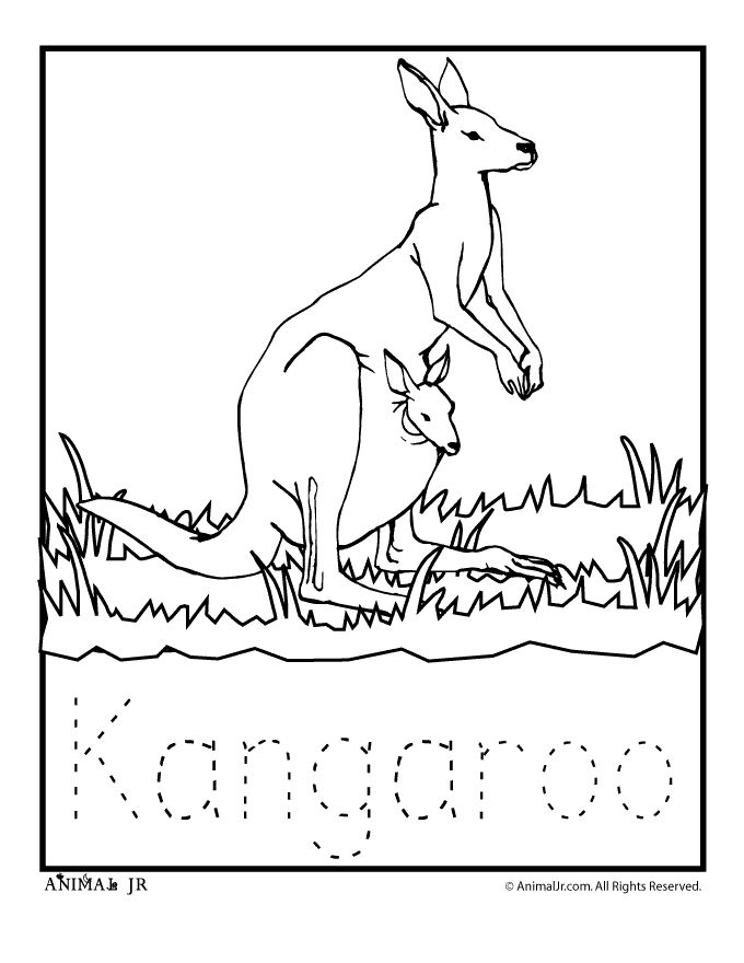 680x880 Top Australia Coloring Pages