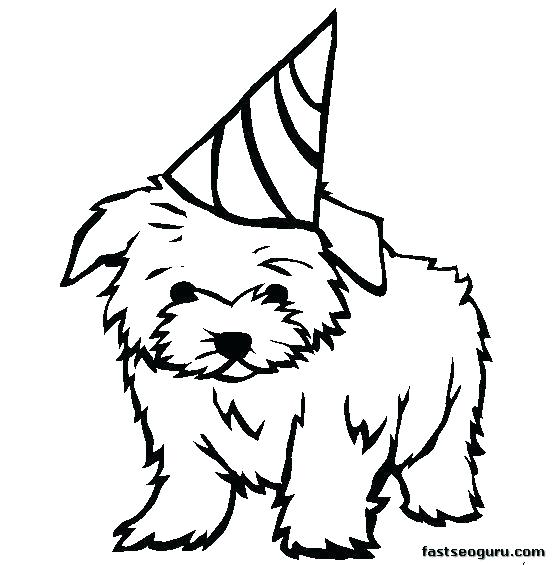 554x565 Dog Coloring Pages To Print