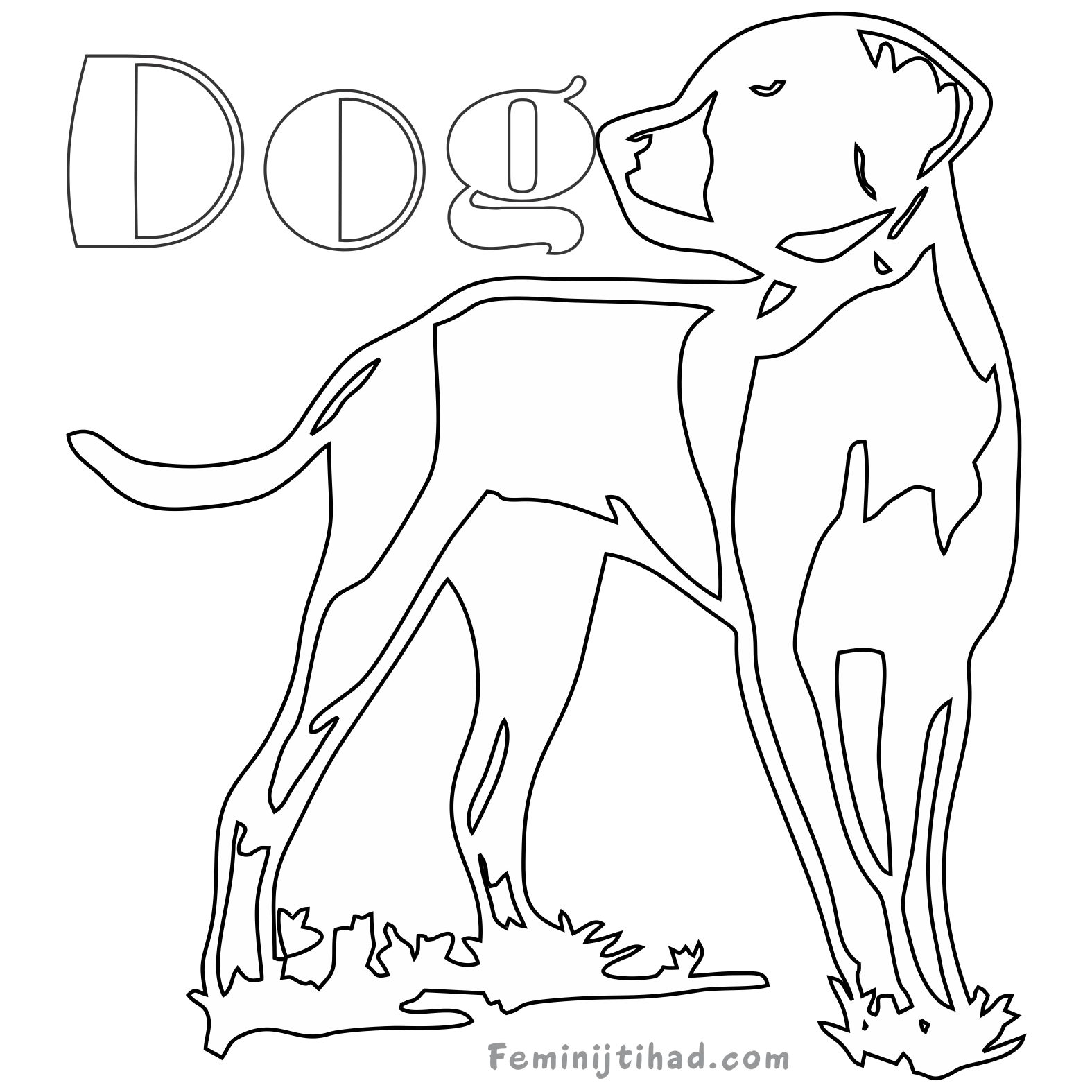1575x1575 Redbone Coonhound Coloring Page Free Free Online Disney Books