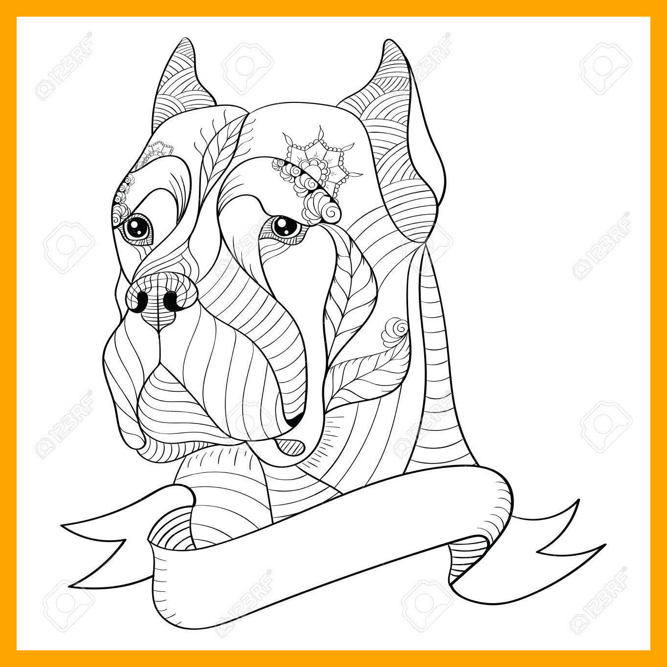 1368x1367 Amazing Australian Shepherd Coloring Pages Finest Tricolor Puppy