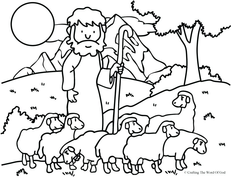 800x617 Shepherd Coloring Pages Shepherd Pictures To Print Printable