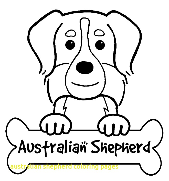 660x705 Australian Shepherd Coloring Pages