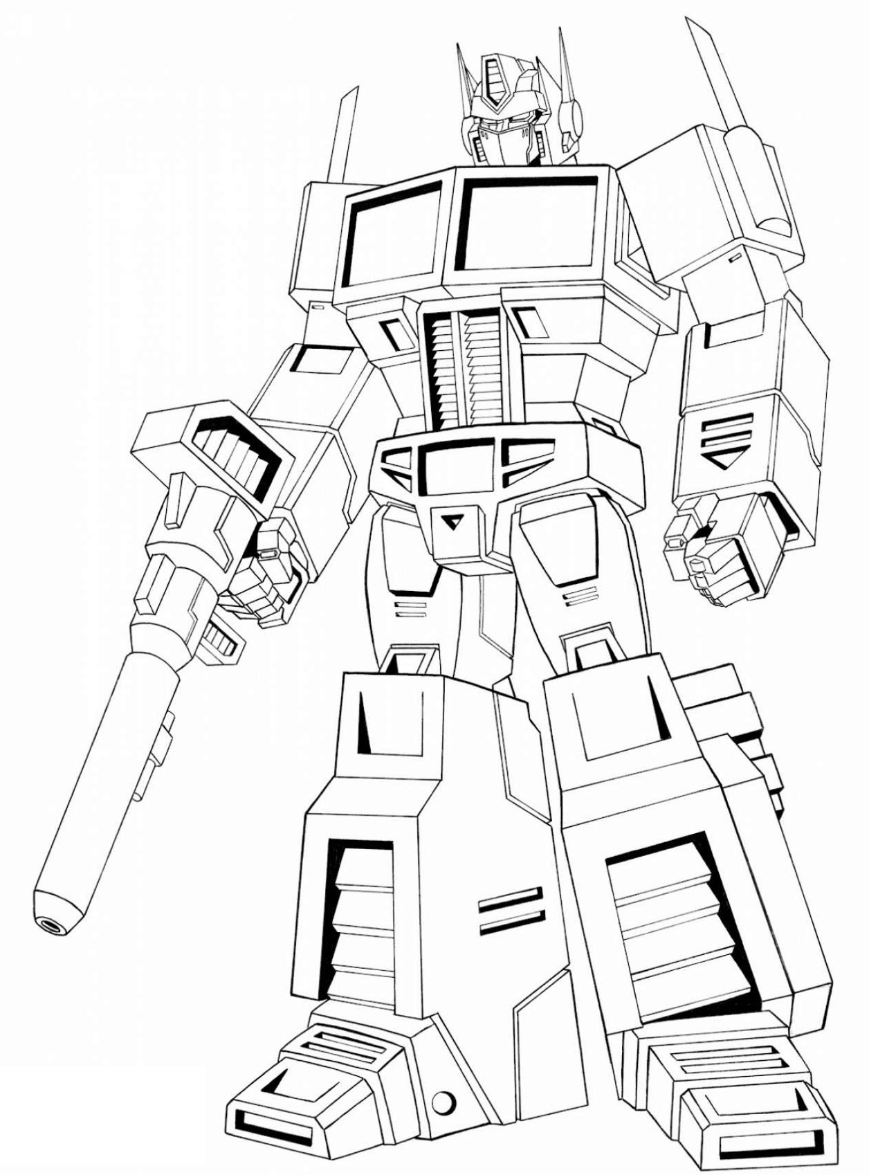 1256x1698 Get The Awe Inspiring Optimus Prime Coloring Pages