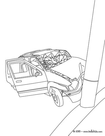 364x470 Car Coloring Pages