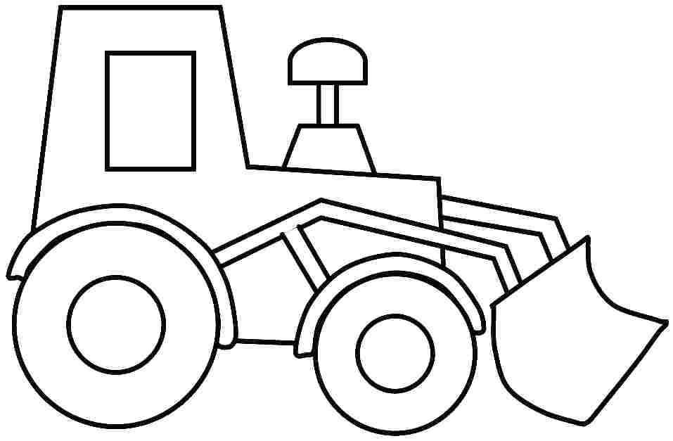 957x627 Construction Vehicles Coloring Pages