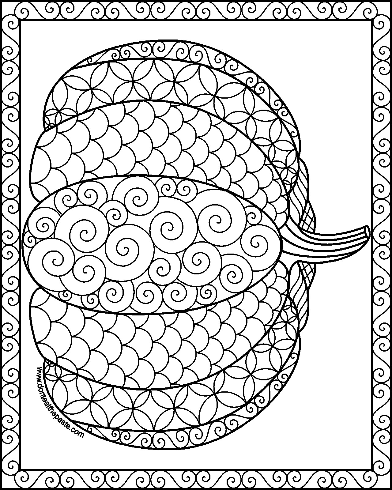 1280x1600 Fall Free Printable Adult Coloring Pages Pat Catan S Blog