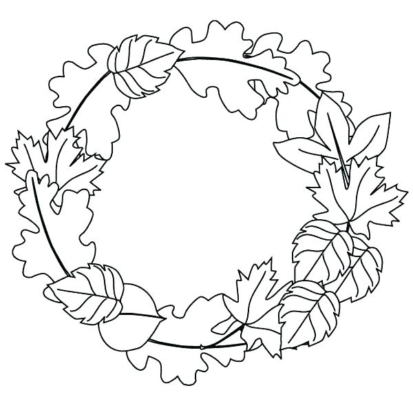 600x592 Printable Autumn Coloring Pages For Adults Fall Coloring Pages