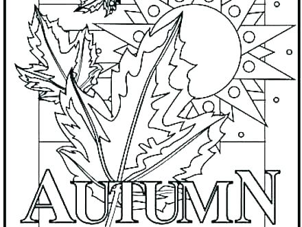 440x330 Coloring Pages Fall Printable