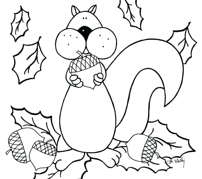 678x600 Fall Coloring Pages For Adults Free Printable Autumn Coloring