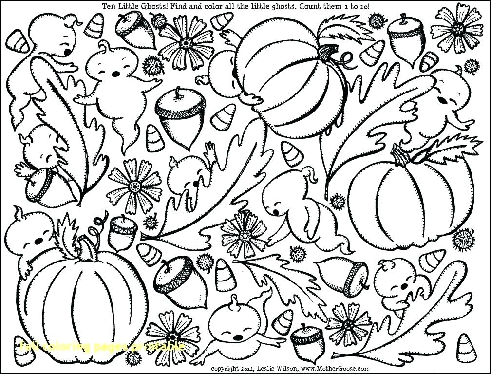 1008x768 Fun Fall Coloring Pages