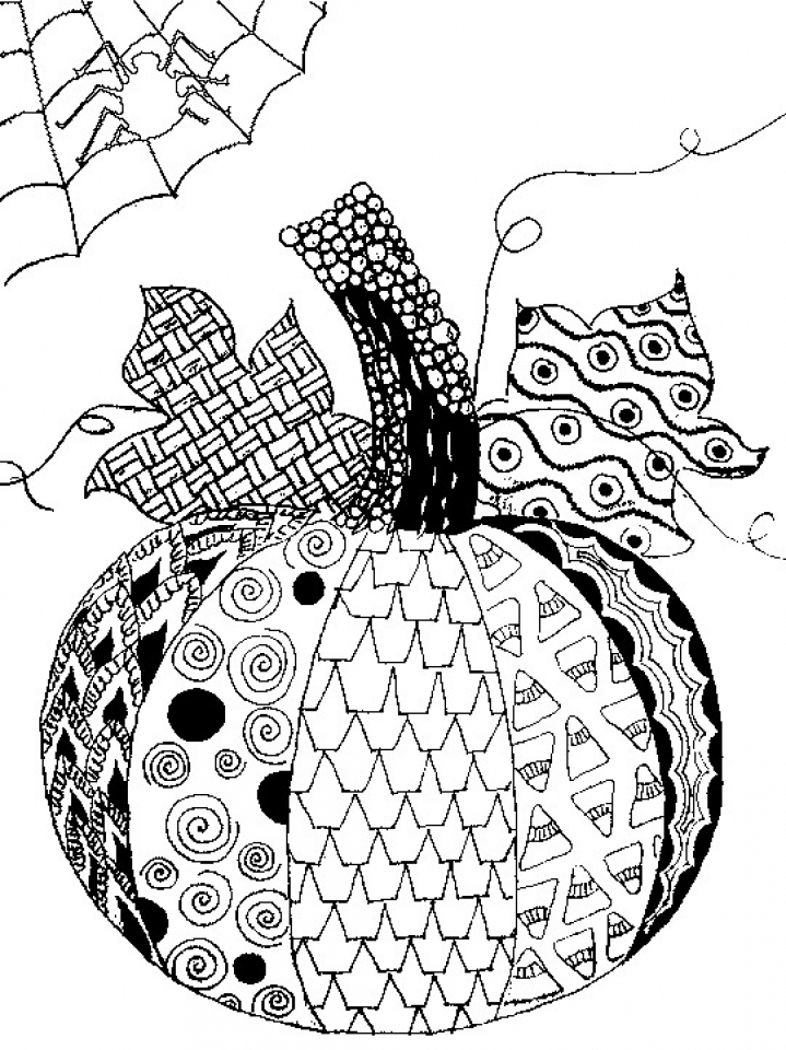 719x960 Get This Printable Autumn Coloring Pages For Adults !