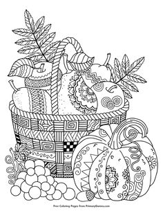 236x305 Gorgeous Pumpkin Coloring Pages For Kids Or Adults! Homeschool