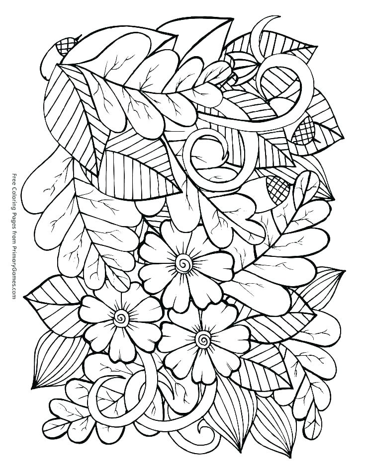 736x952 Autumn Coloring Pages Coloring Pages For Fall Printable Coloring