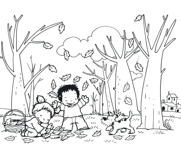 600x481 Autumn Coloring Pages Autumn Animal Squirrel Coloring Pages Autumn