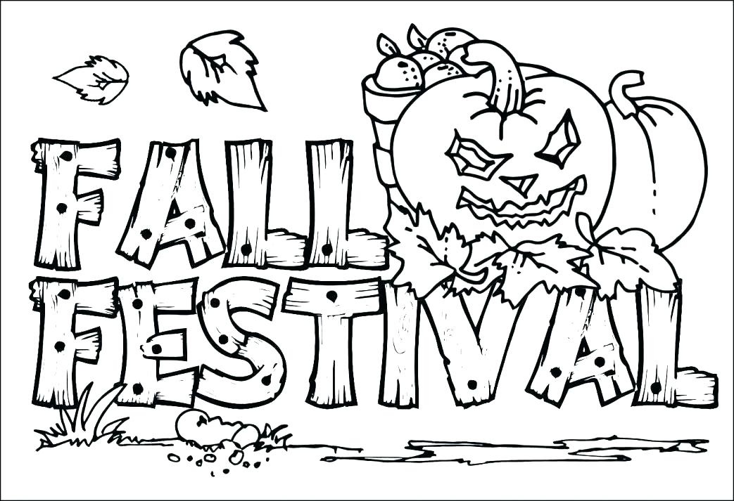 1043x713 Fall Coloring Sheets Free Fall Leaf Coloring Pages Fall Themed