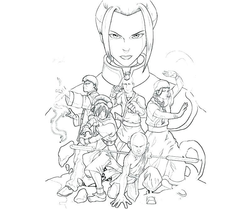 800x667 Avatar Last Airbender Coloring Pages Pge Avatar The Last Airbender