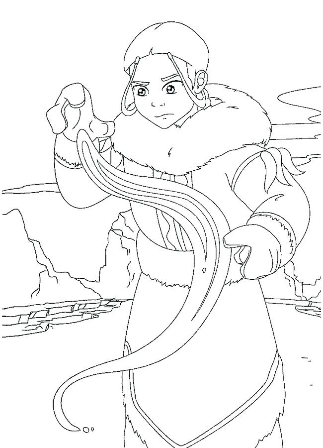 650x900 Avatar The Last Airbender Coloring Pages Generous Avatar The Last