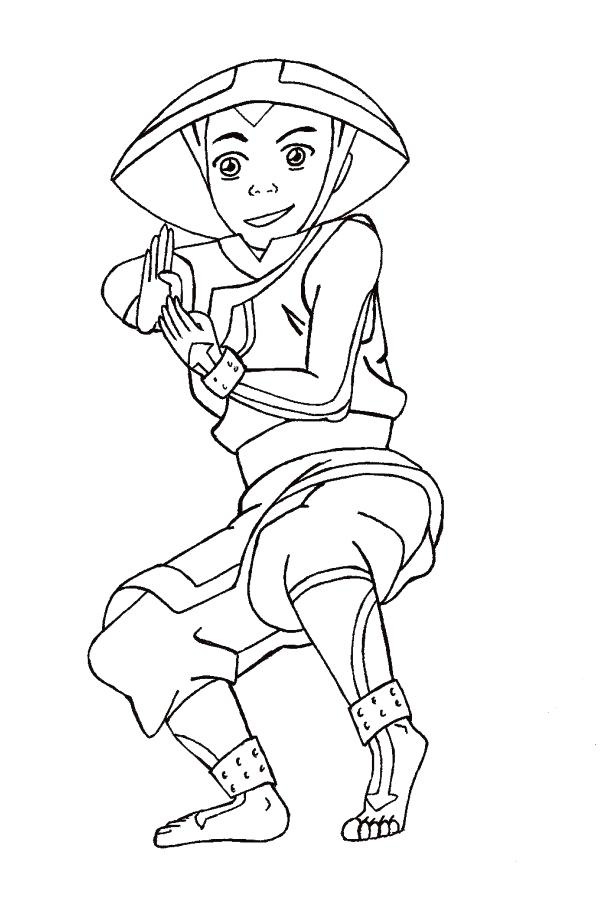 606x900 Avatar The Last Airbender Coloring Pages Last Coloring Pages