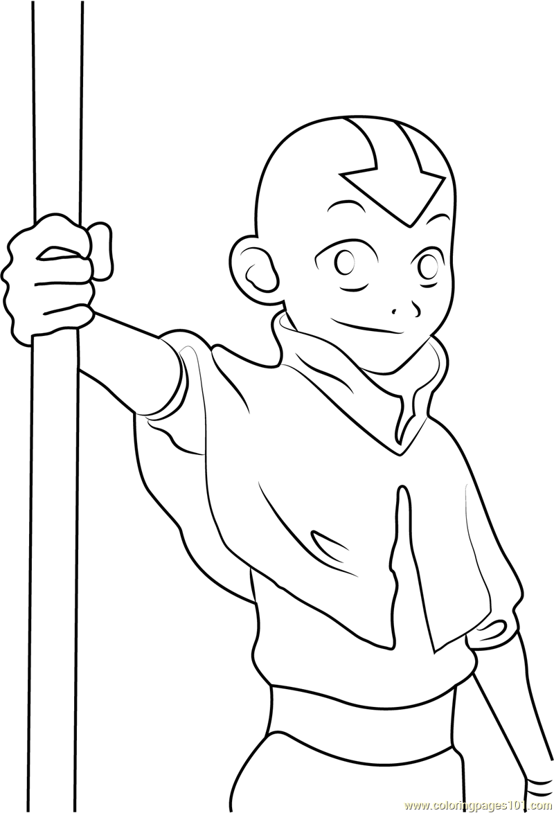 800x1174 Avatar The Last Airbender Coloring Pages