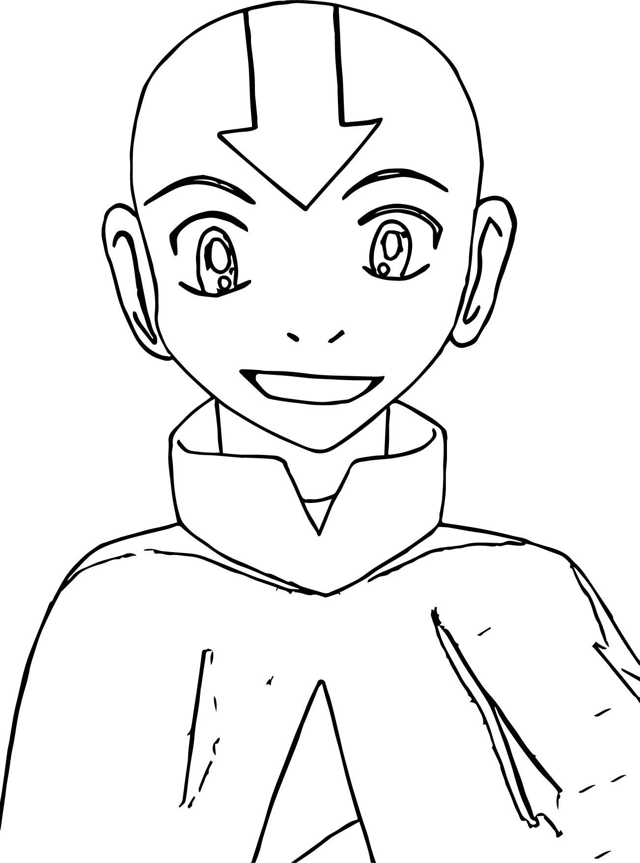 1303x1757 Awesome Fine Avatar The Last Airbender Coloring Pages Contemporary