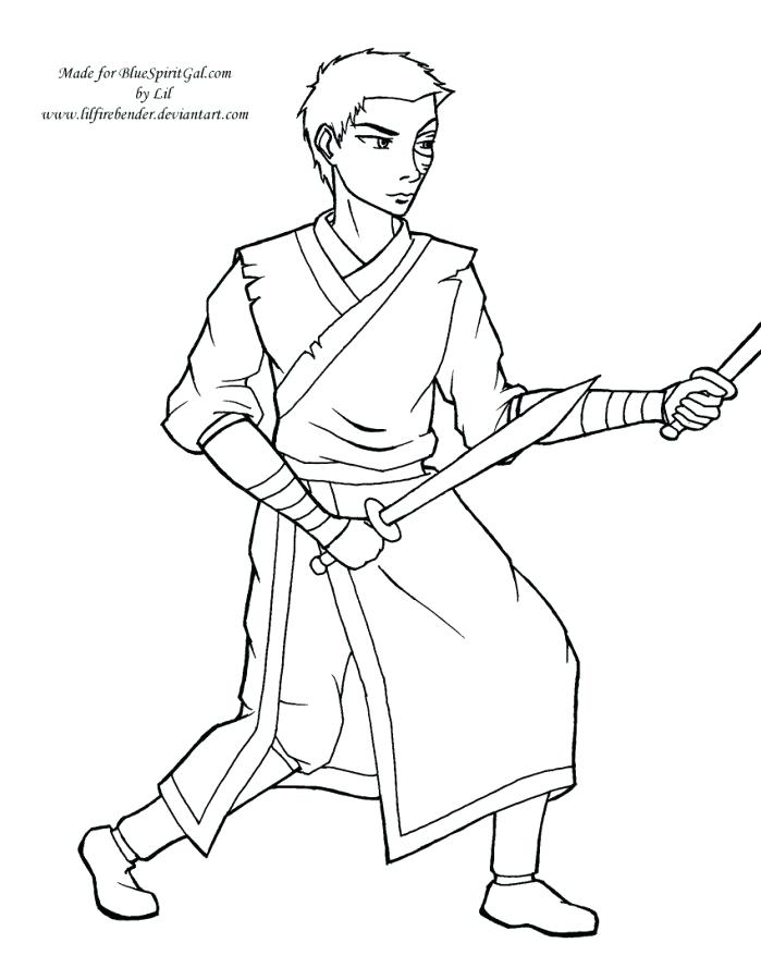 699x900 Coloring Pages Blue Spirit Gal Coloring Pages