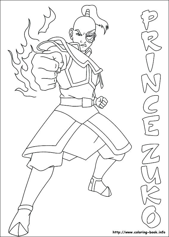 567x794 Coloring Avatar The Last Airbender Coloring Pages Index Aang