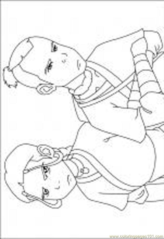 Avatar The Last Airbender Coloring Pages At Getdrawings Com Free