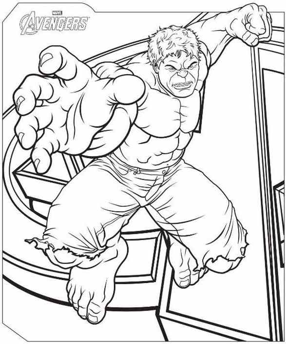 Avengers Hulk Coloring Pages at GetDrawings.com | Free for personal ...