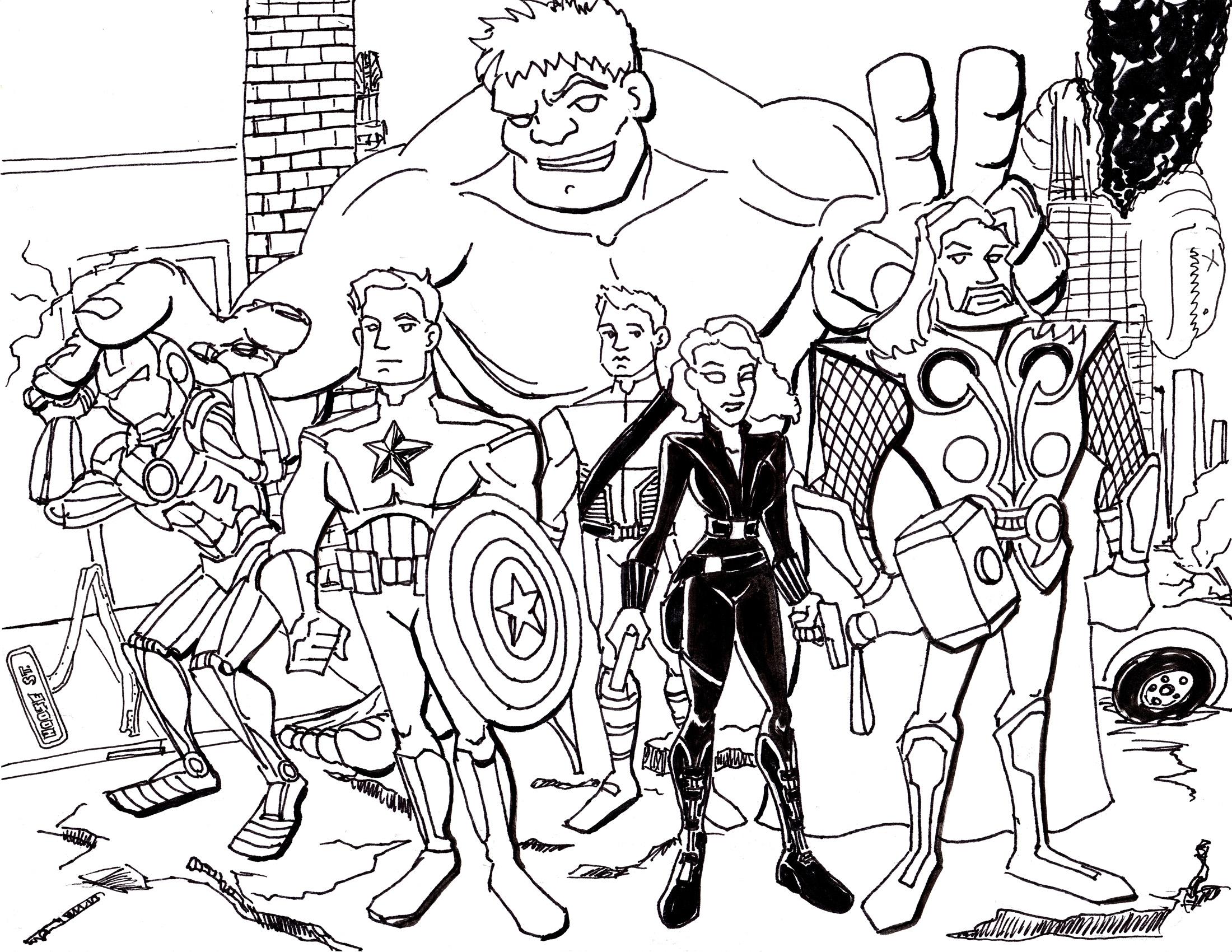 Avengers Vector at GetDrawings | Free download