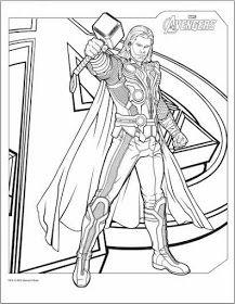 217x280 Dibujos De Thor Para Colorear Y Pintar Imprimir Dibujos De Thor