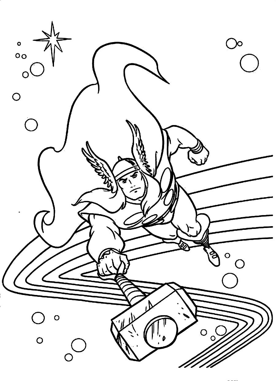 900x1240 Avengers Coloring Pages