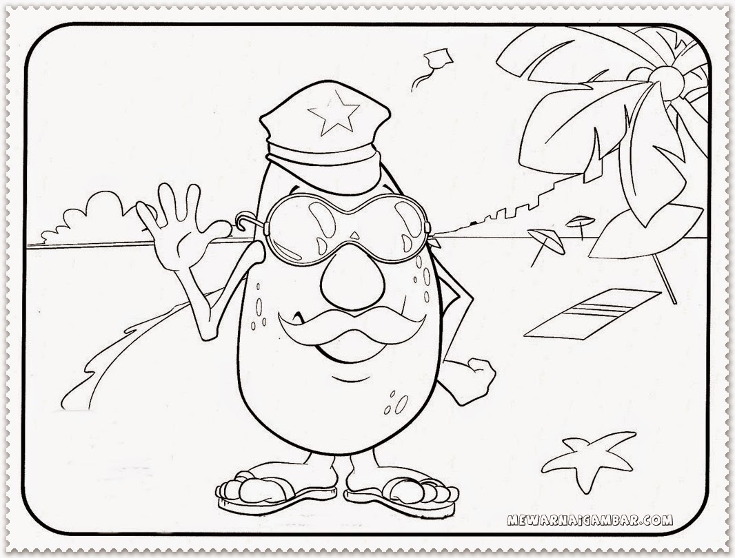 1066x810 Free Coloring Pages Of Avocado