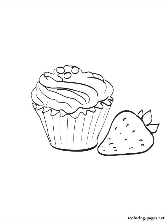 560x750 Muffin Coloring Page Blueberry Coloring Page Avocado Fruits