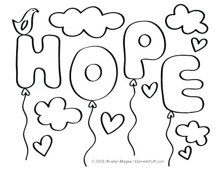 453x350 Cancer Ribbon Coloring Page Cancer Ribbon Coloring Page Ribbon