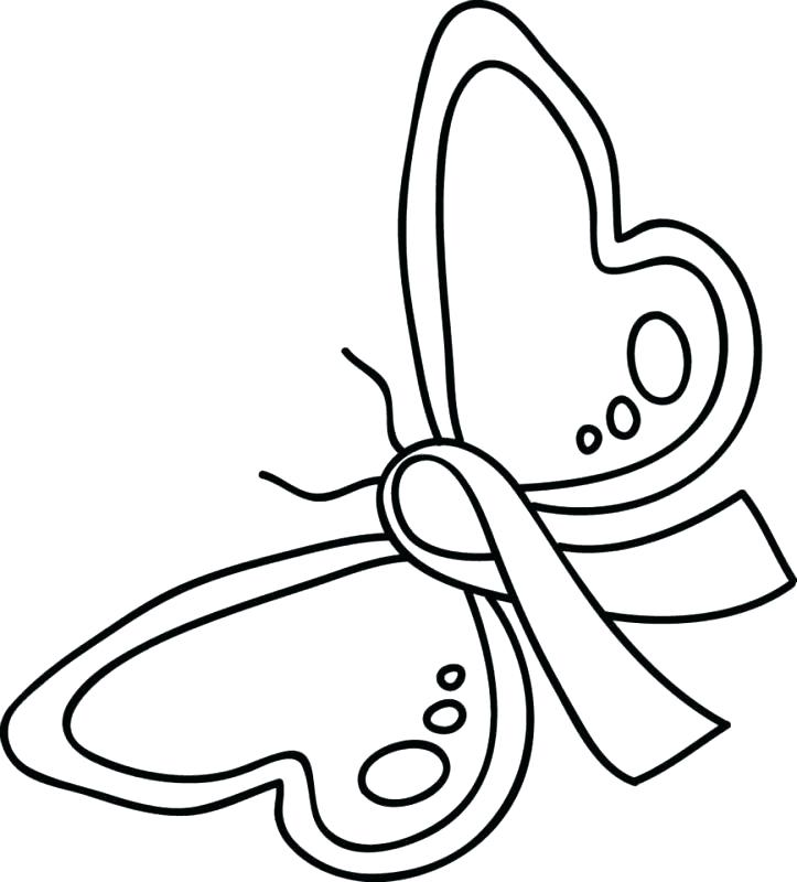 723x800 Award Ribbon Outline Cool Ribbon Coloring Page