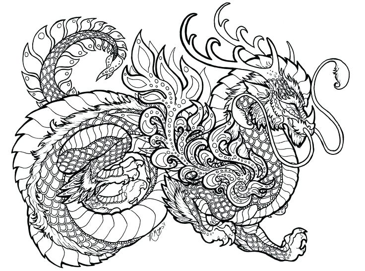 736x546 Cool Dragon Coloring Pages Fresh Coloring Page Dragon In Coloring