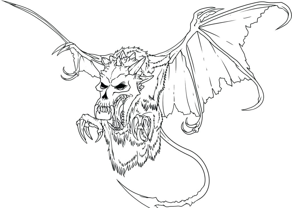1024x729 Scary Dragon Coloring Pages Cool Dragon Pictures To Color Coloring