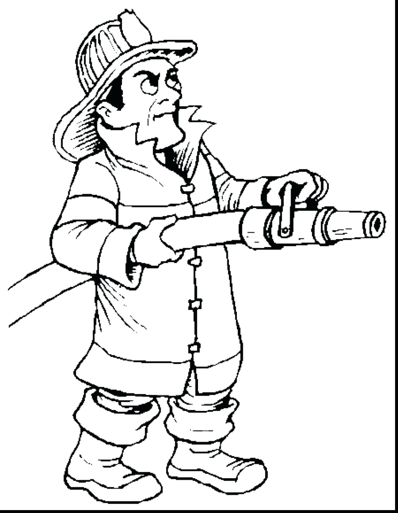 1365x1760 Fresh Firefighter Coloring Page Gallery Printable Coloring Sheet