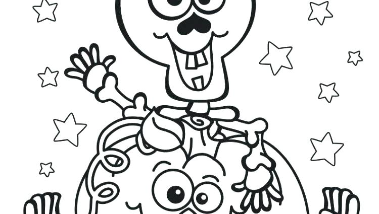 750x425 Printable Skeleton Coloring Pages For Kids Skeleton Coloring Page