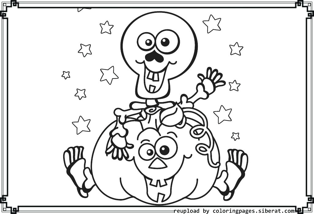 1024x700 Halloween Skeleton Coloring Pages Cat Skeleton C Page Pages