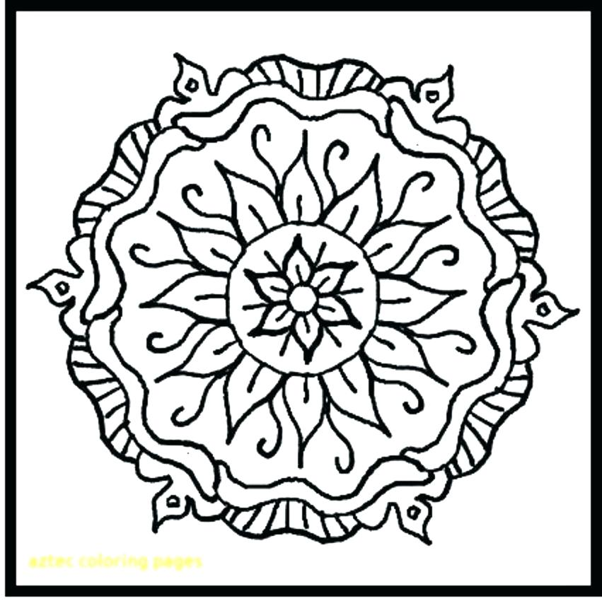 851x850 Aztec Coloring Pages Coloring Pages Coloring Pages Your Creations