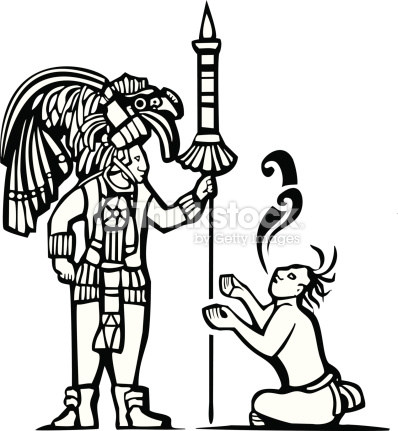 398x431 Aztec Warrior Clipart Mayan Person Many Interesting Cliparts