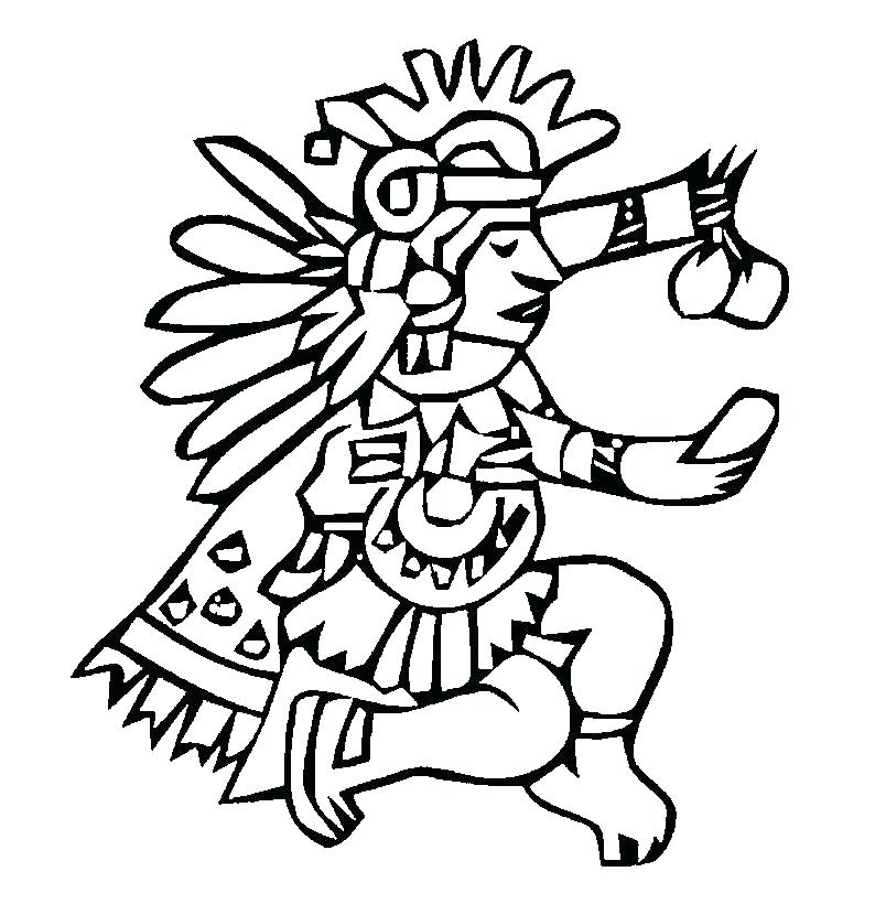794x820 Coloring Pages Free Coloring Aztec Mandala Coloring Pages