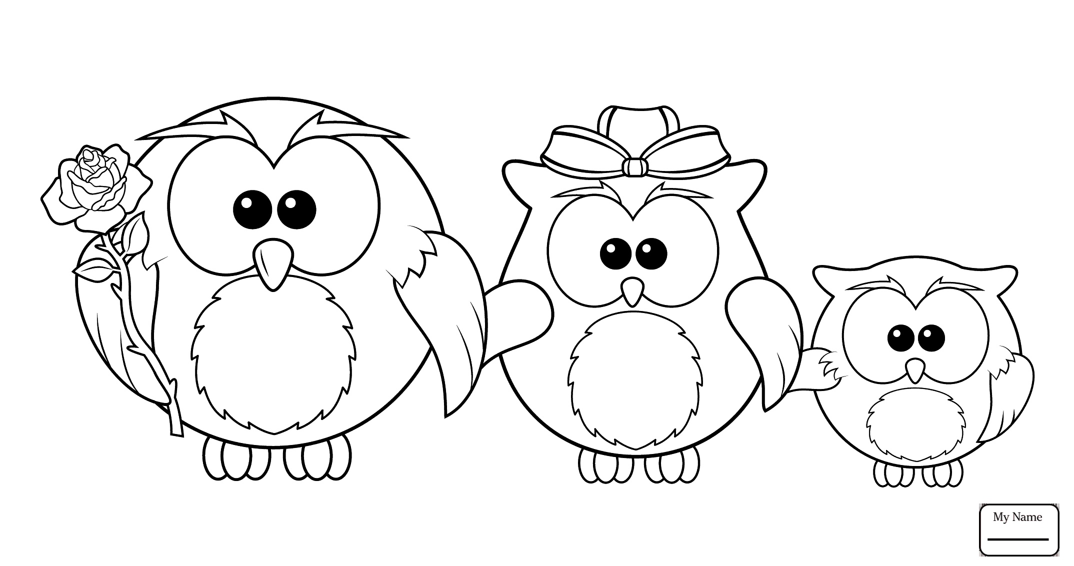 2148x1132 Beautiful Coloring Pages For Kids Northern Spotted Owl Birds