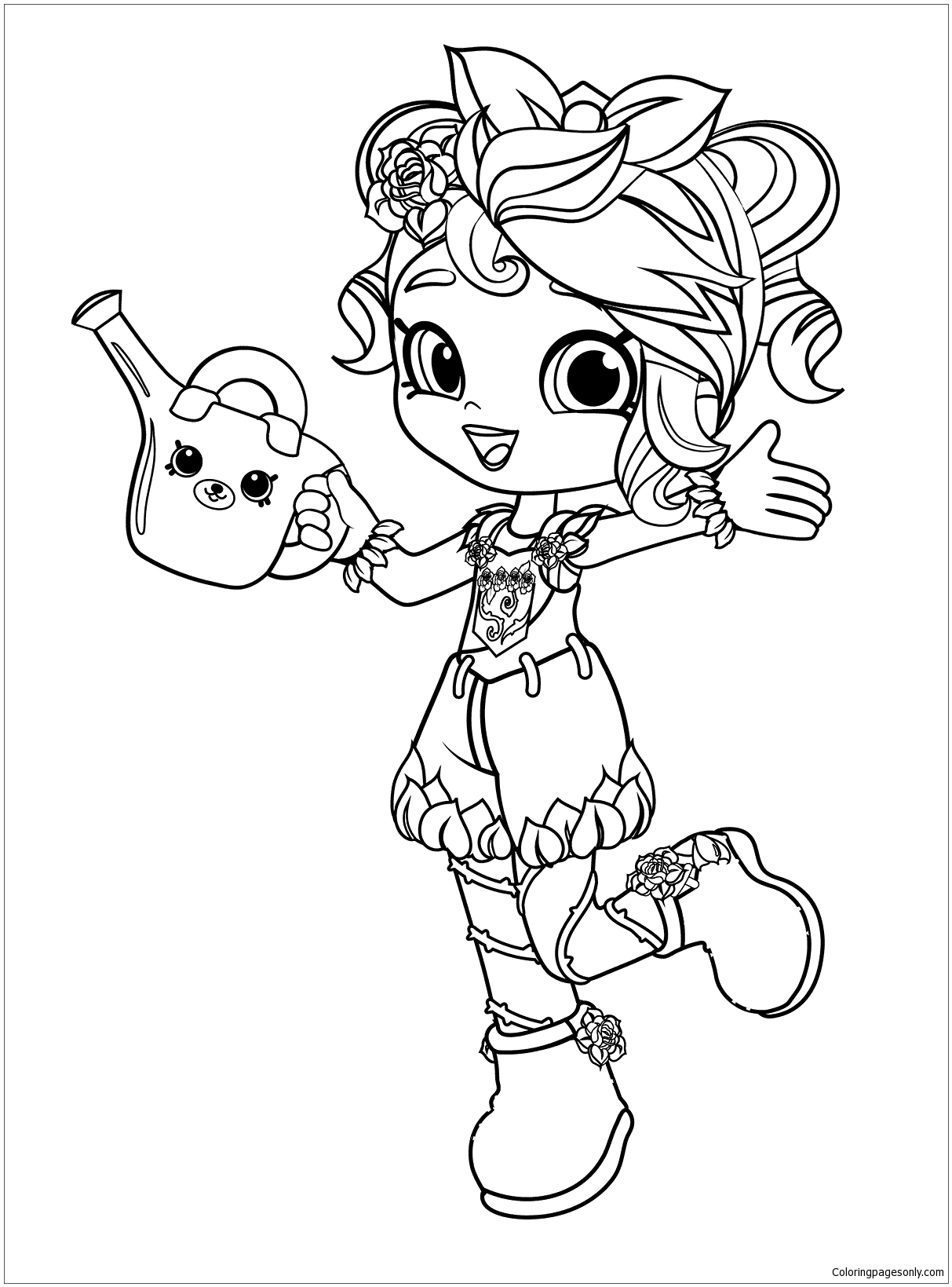 1213x1639 Best Of Shopkins Girls Coloring Pages Collection Printable