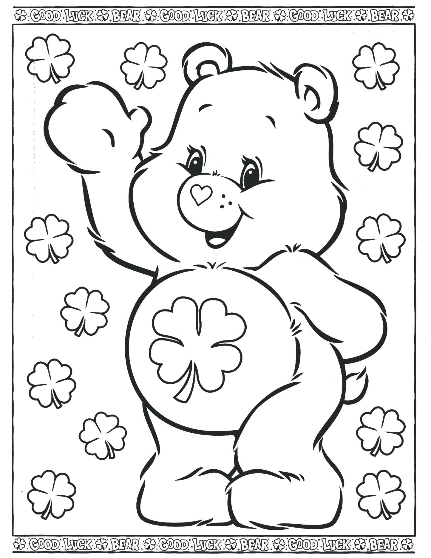1445x1870 Coloring Pages Care Bears Acpra