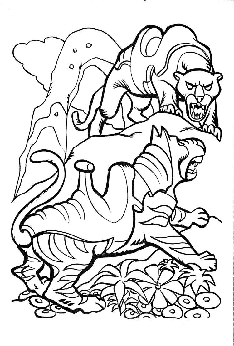 750x1105 James Eatock Presents The He Man And She Ra Blog! Coloring Book