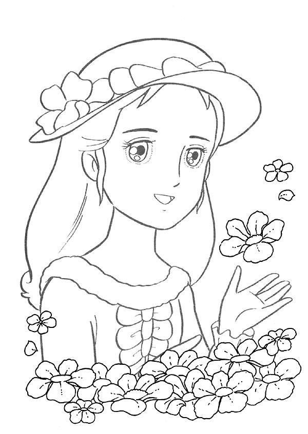 600x847 Princess Sarah Coloring Pages